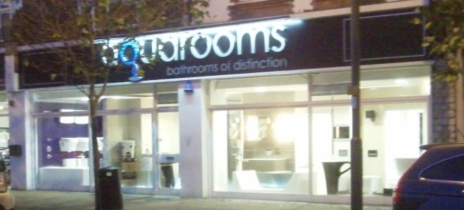 aquarooms shop front