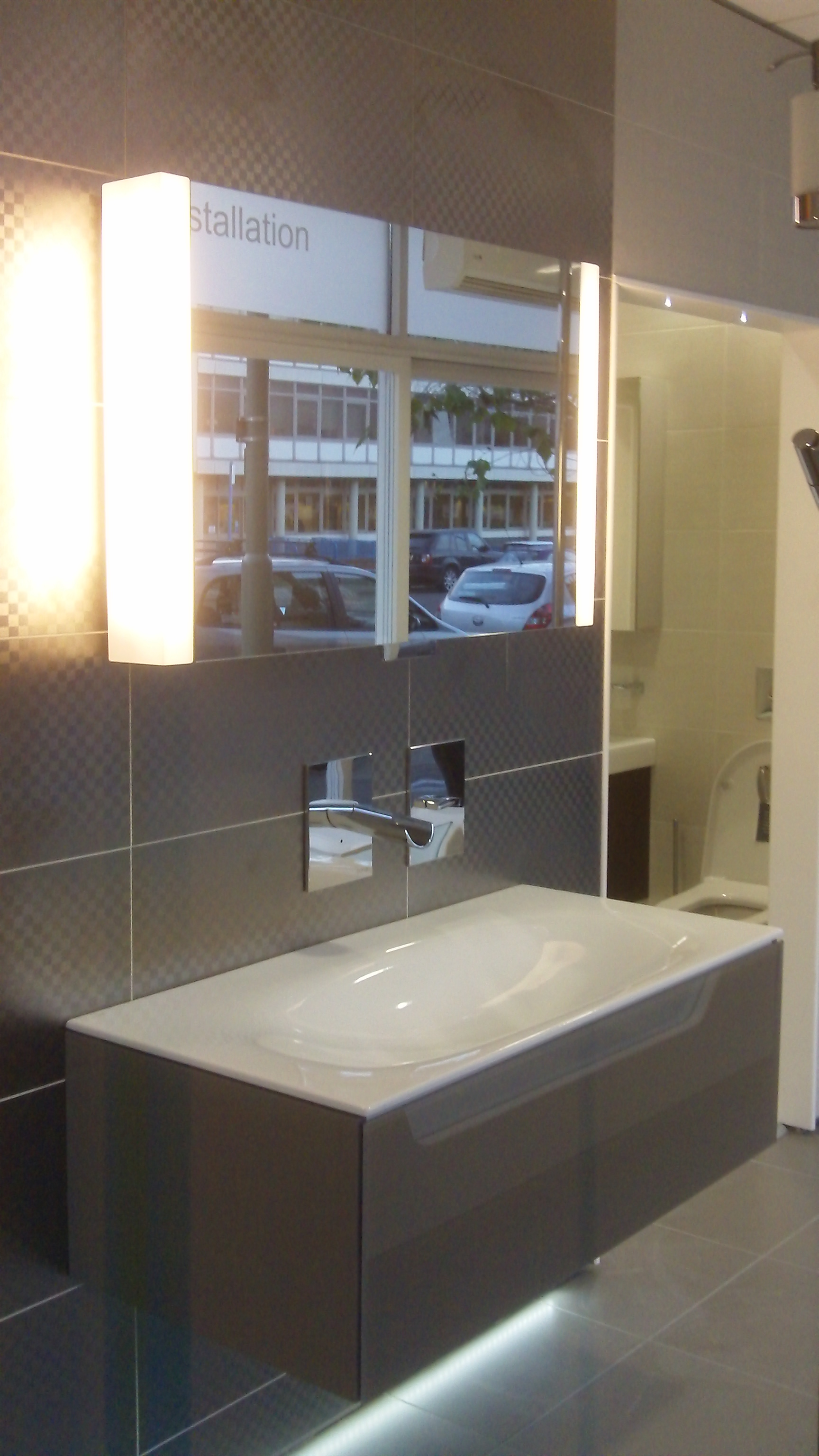 keuco bathroom cabinets keuco vanity unit display at aquarooms aquarooms co uk 13299